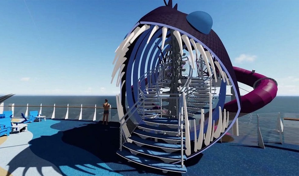 Royal Caribbean Ultimate Abyss Slide