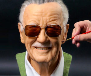 Sculpting Stan Lee