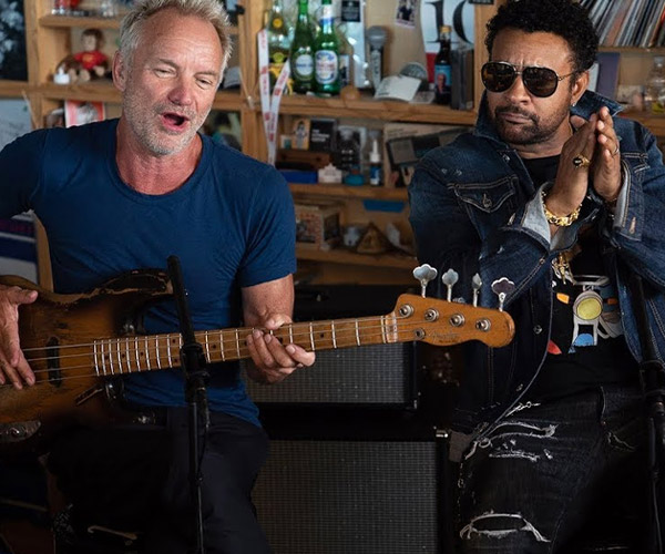 Sting & Shaggy: Tiny Desk Concert