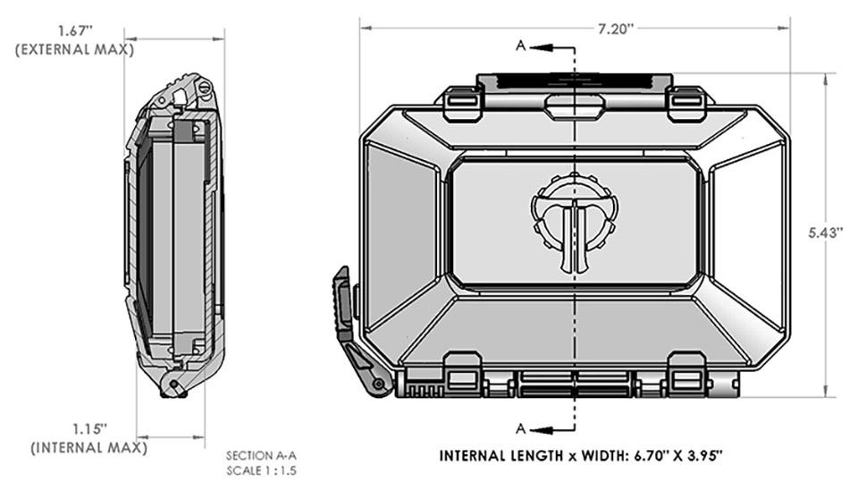 THYRM Darkvault Gear Cases