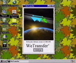 WeTransfer in the '90s