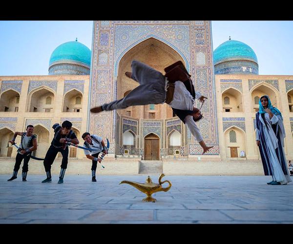 Aladdin Parkour