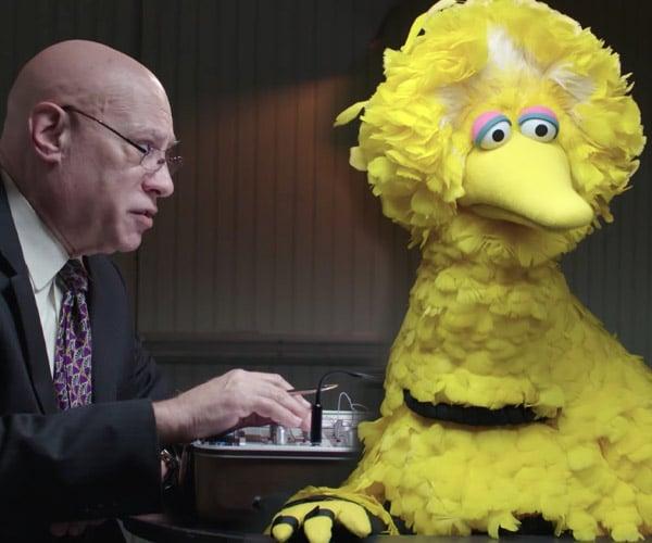 Big Bird Takes a Lie Detector Test