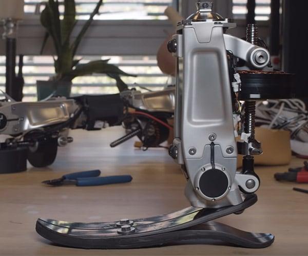 Building a Bionic Leg