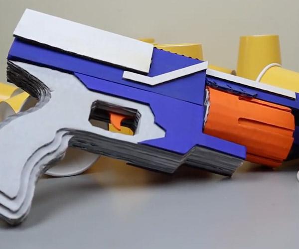 Cardboard NERF Gun