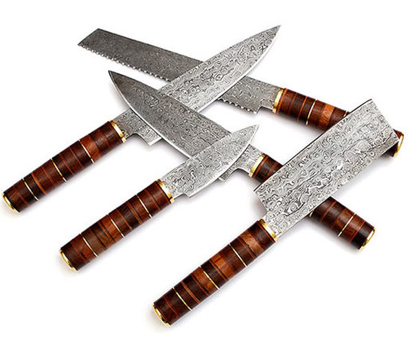 Damascus Chef's Kitchen Set