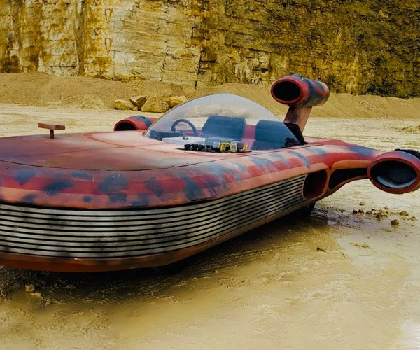 Jet-powered Landspeeder