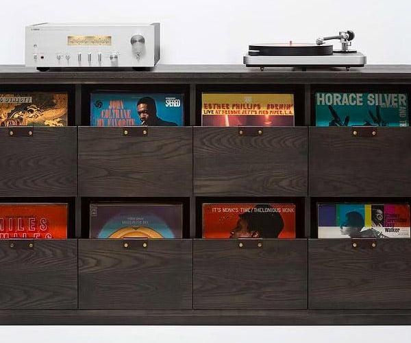Dovetail Vinyl Storage Cabinets