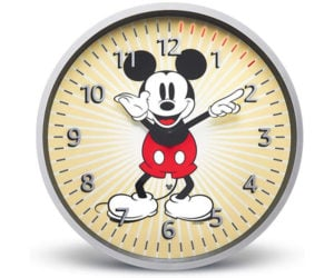 Echo Mickey Mouse Wall Clock