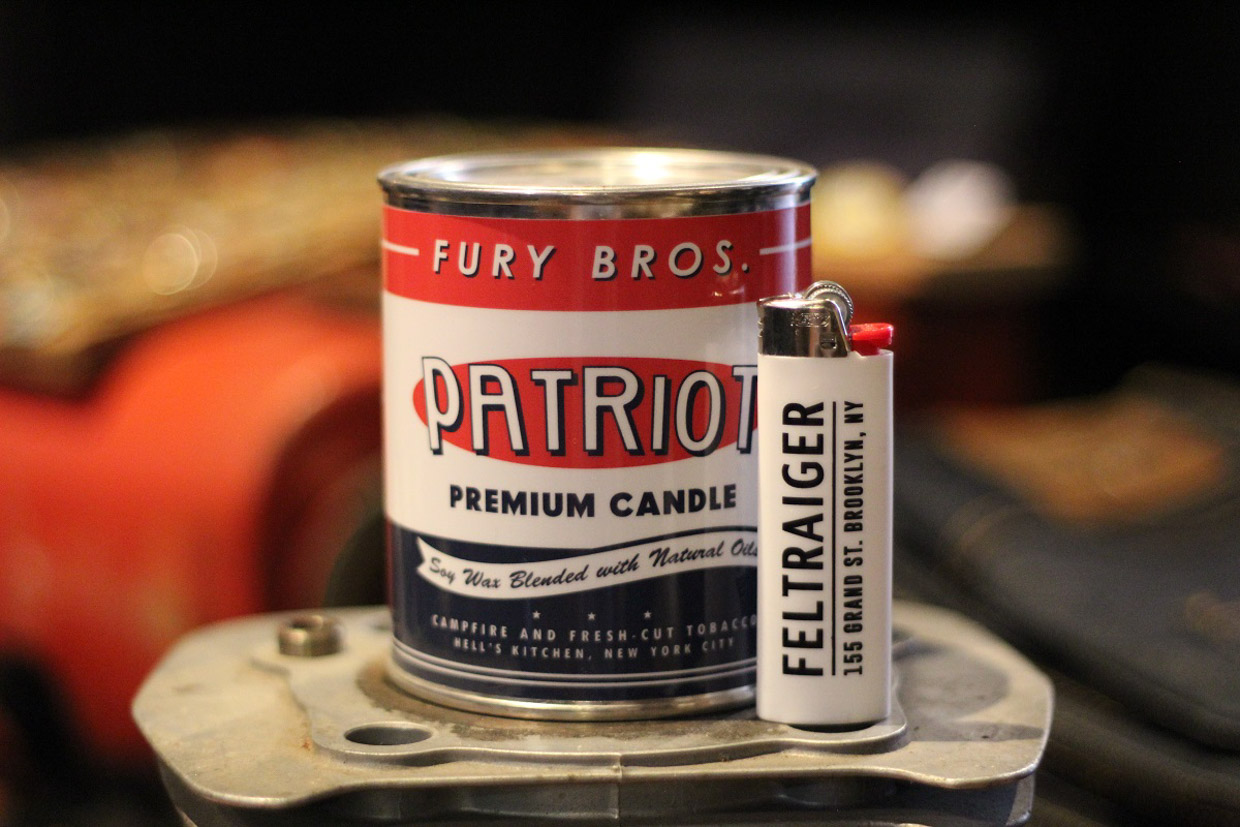 Fury Bros. Oil Can Candles