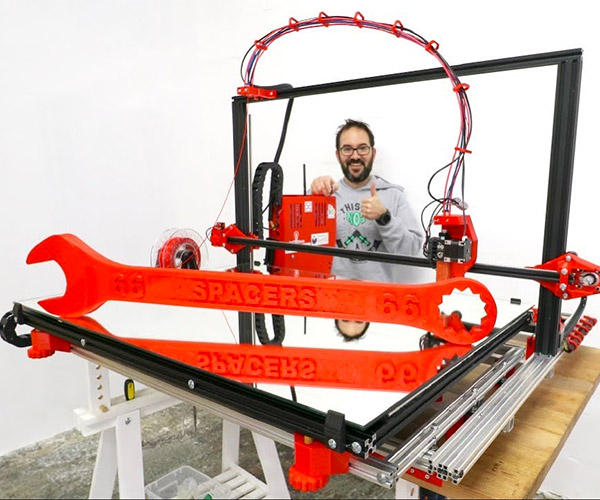 Building a Giant 3D Printer