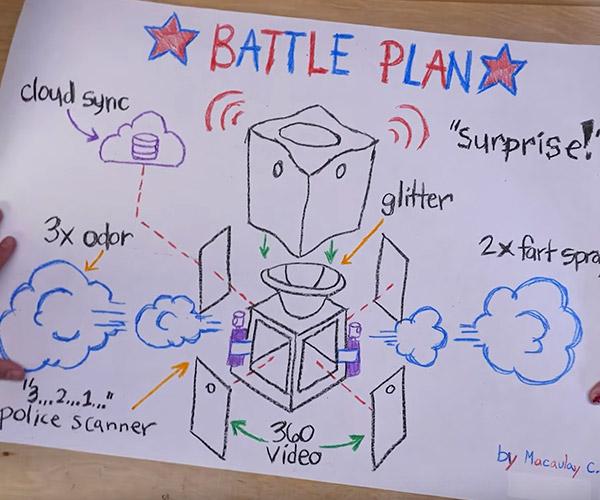 Glitter Bomb Trap 2.0