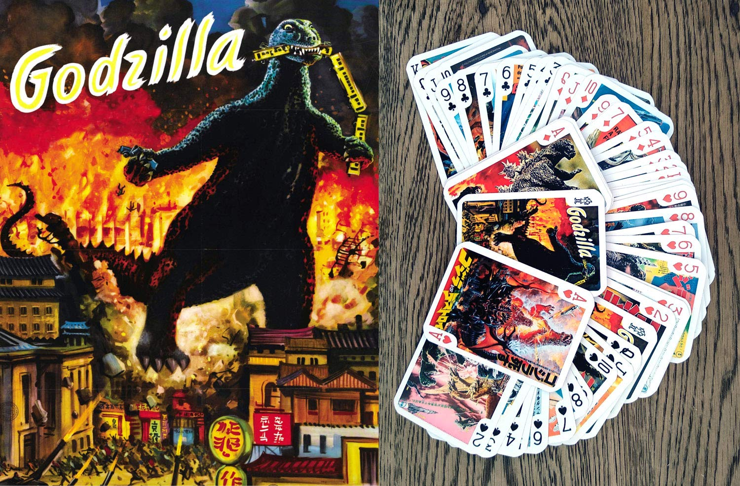 Godzilla Playing Cards