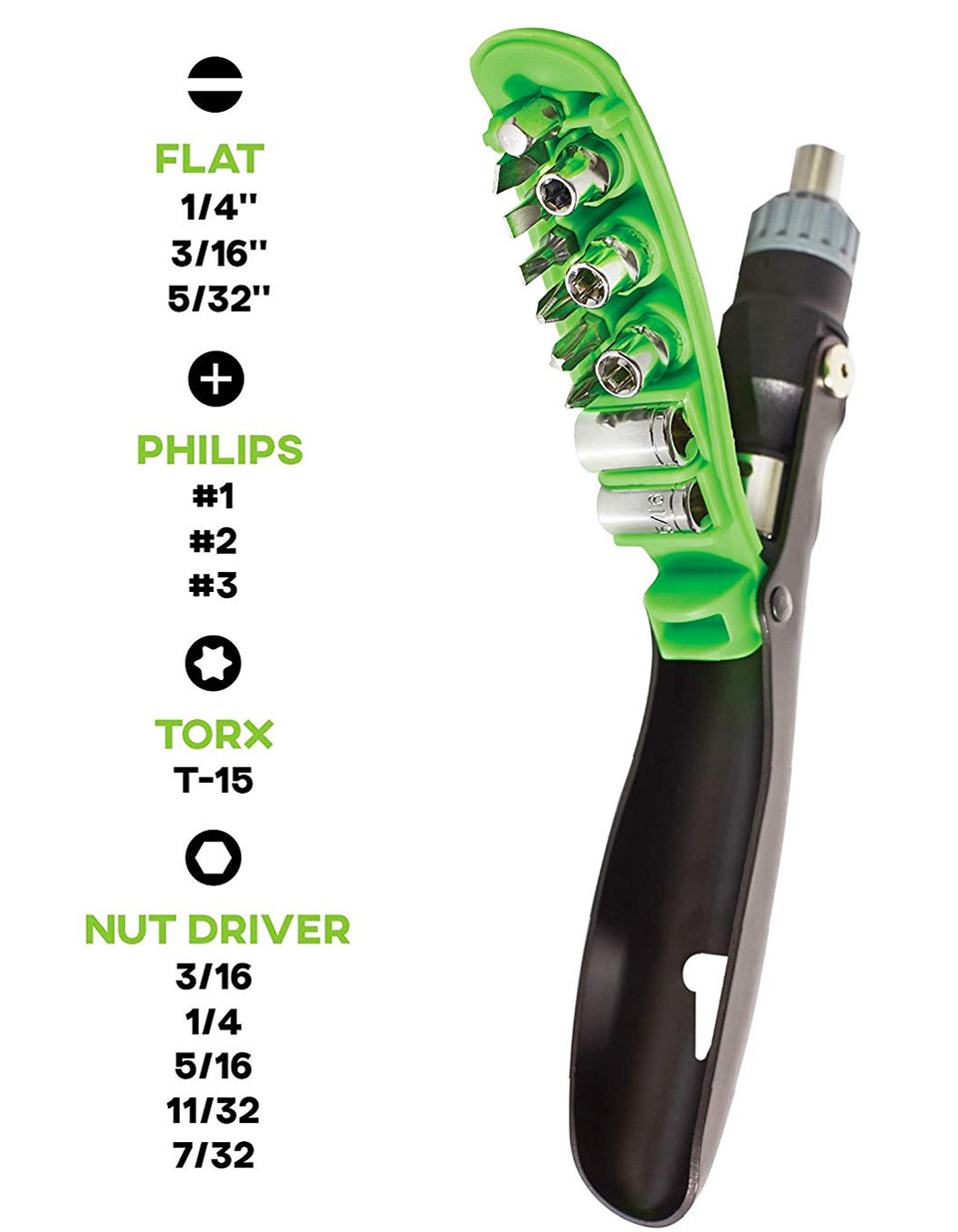 GoPPa 16-in-1 Screwdriver