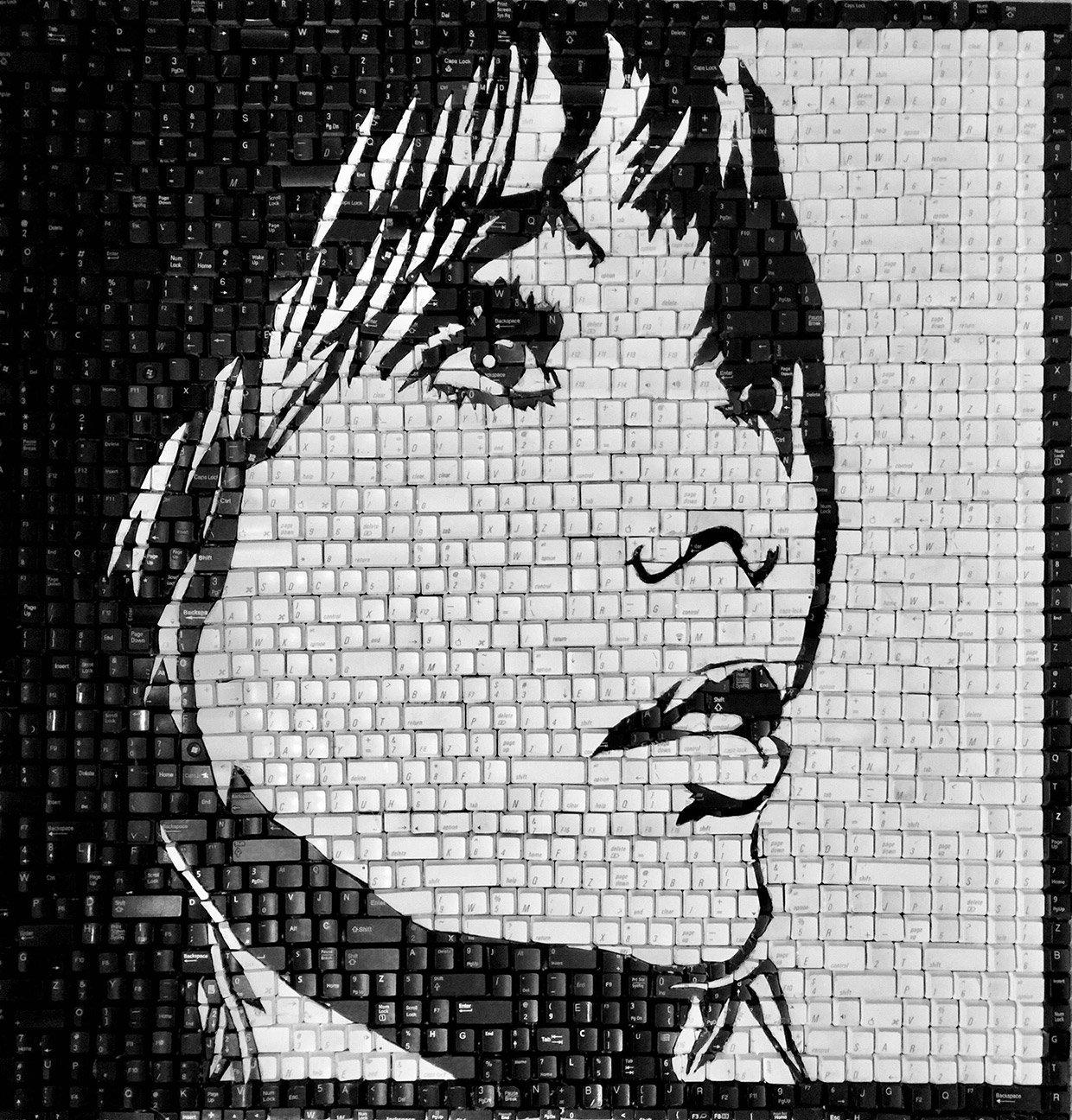 Keyboard Mosaics