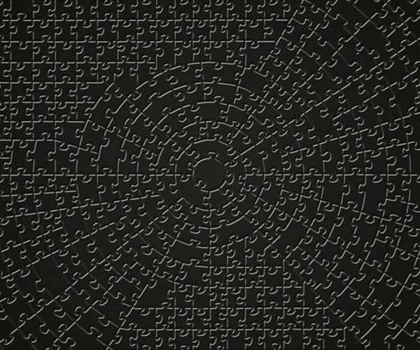 Krypt Black Puzzle