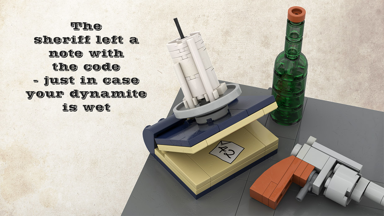 LEGO Sheriff's Safe Concept