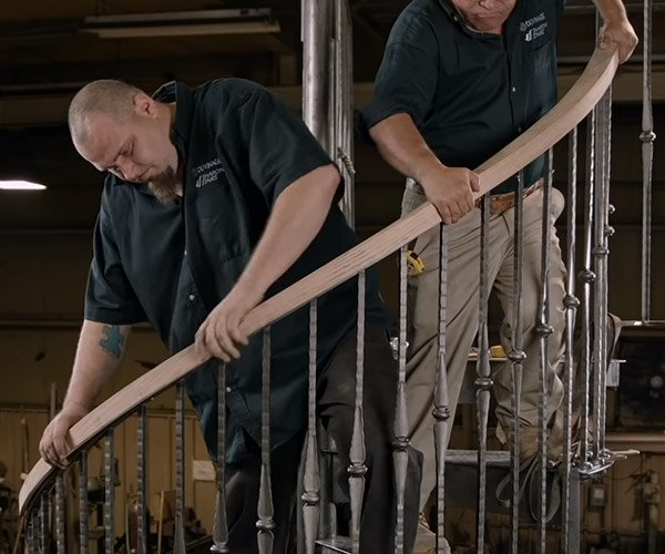 How Spiral Stairs Are Made