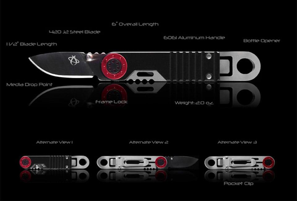 Mantis M-3 Churchkey 1 Knife