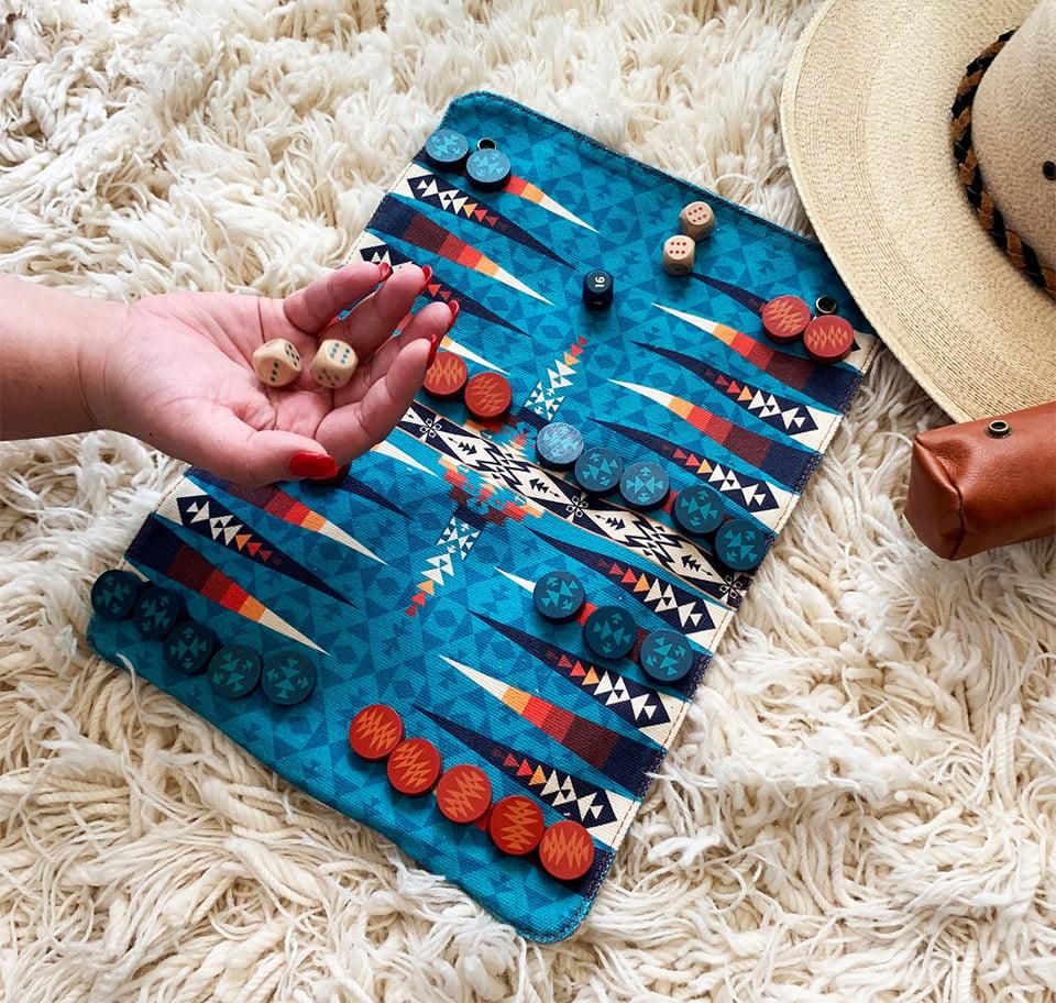 Pendleton Roll-Up Backgammon