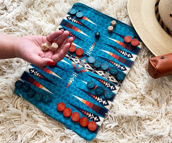 Pendleton Roll-Up Backgammon