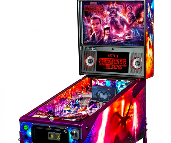Stranger Things Pinball