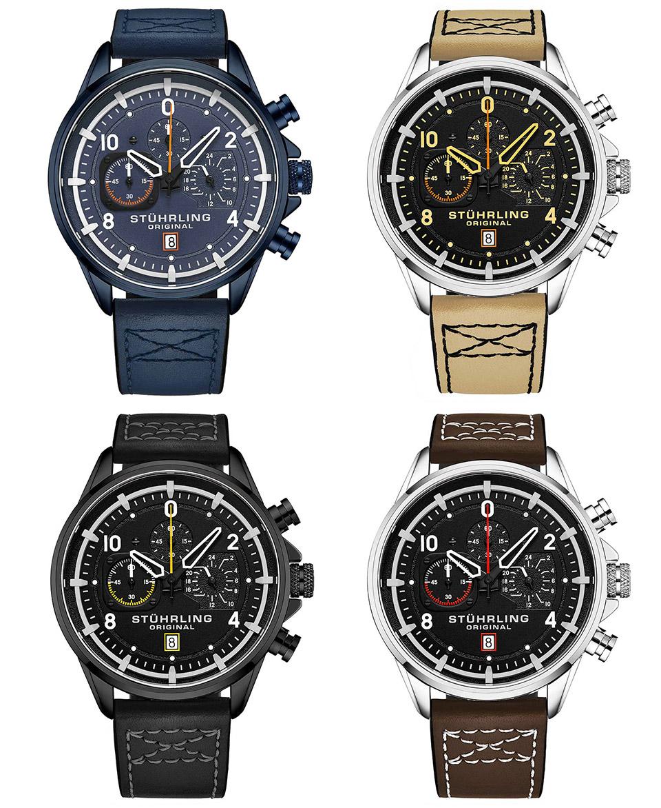 Stührling 929 Aviator Watch