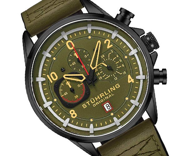 Stührling 929 Aviator Watch