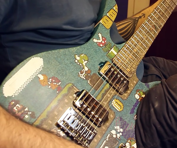 Super Mario Popsicle Guitar