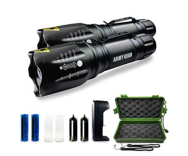 Viper Tactical Flashlight 2-Pack
