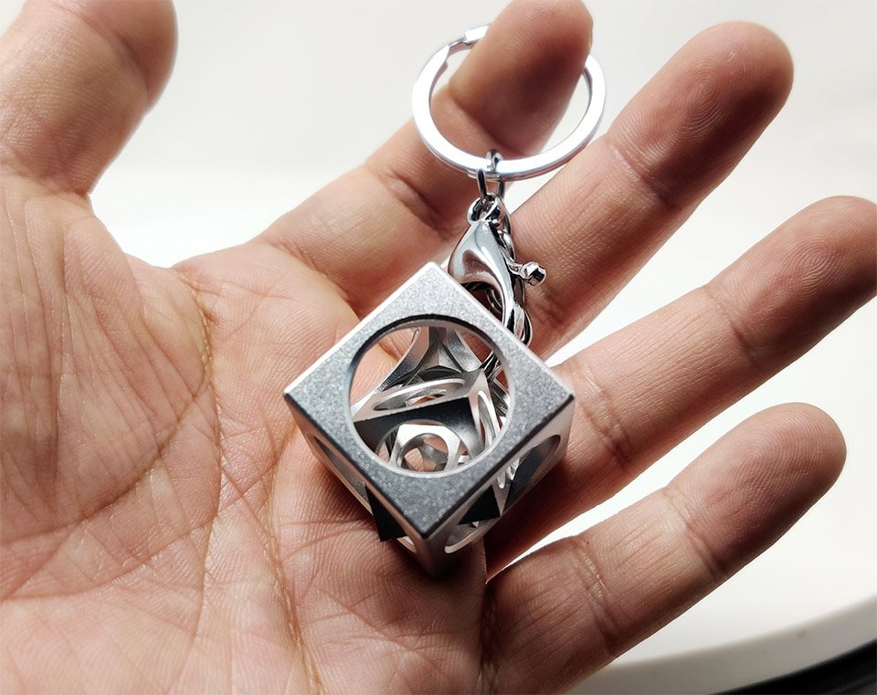 Aluminum Infinity Cube