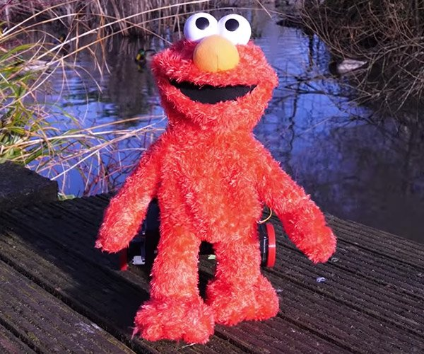 Making an Animatronic Elmo