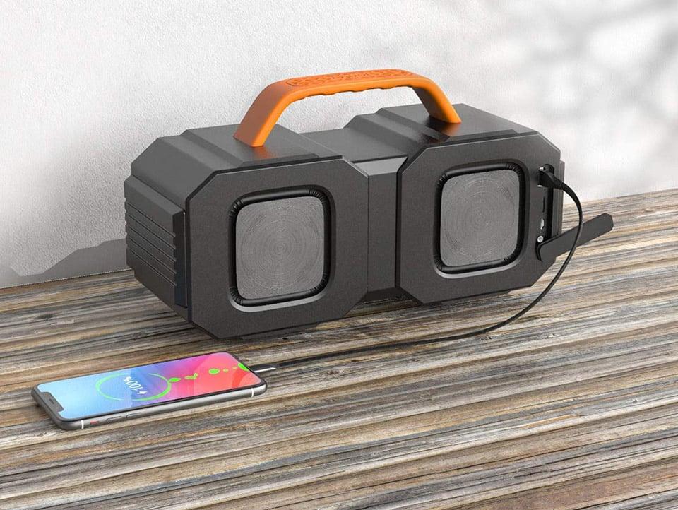 Bugani M83 Bluetooth Boombox
