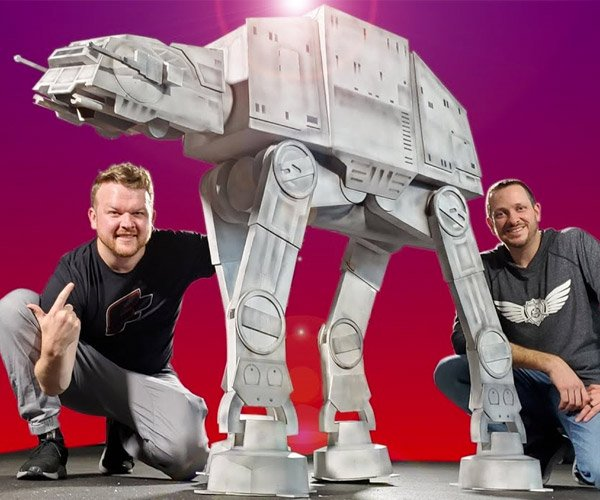 Pony-Sized AT-AT Model