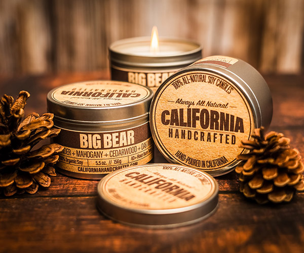 California Handcrafted Candles