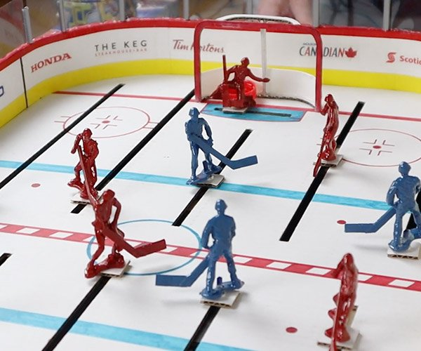 DIY Cardboard Table Hockey