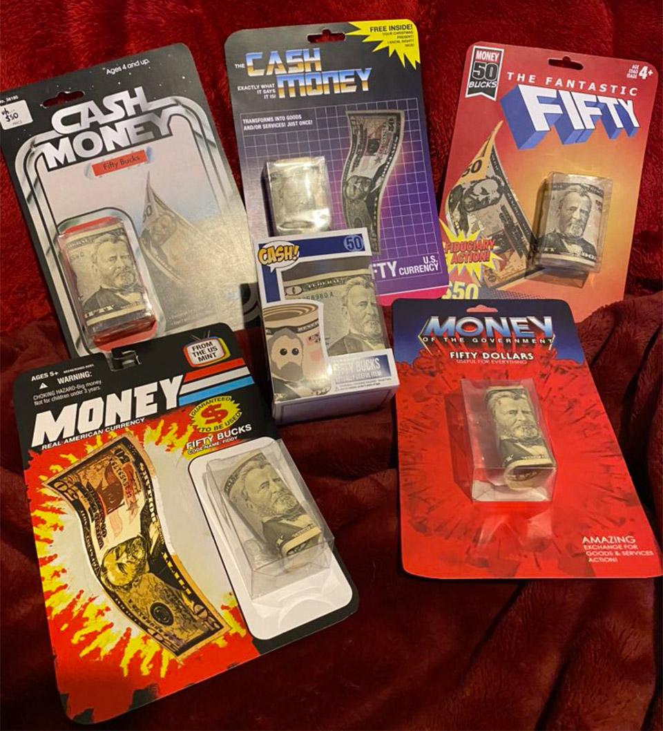 Cash Money Packaging
