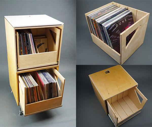 Chelle Vinyl Record Storage