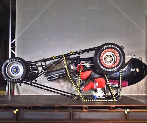 Race Car Crash Testing