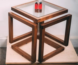 Building an Infinity Cube Table