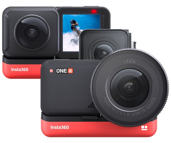 Insta360 ONE R Action Camera
