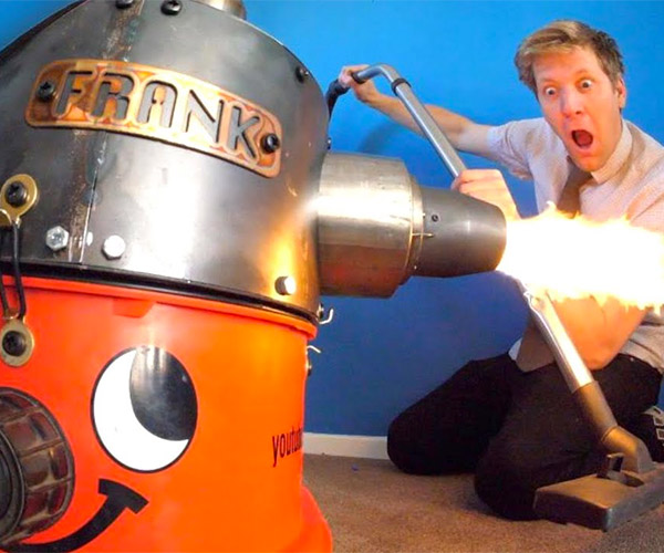 Jet-powered Vacuum Cleaner