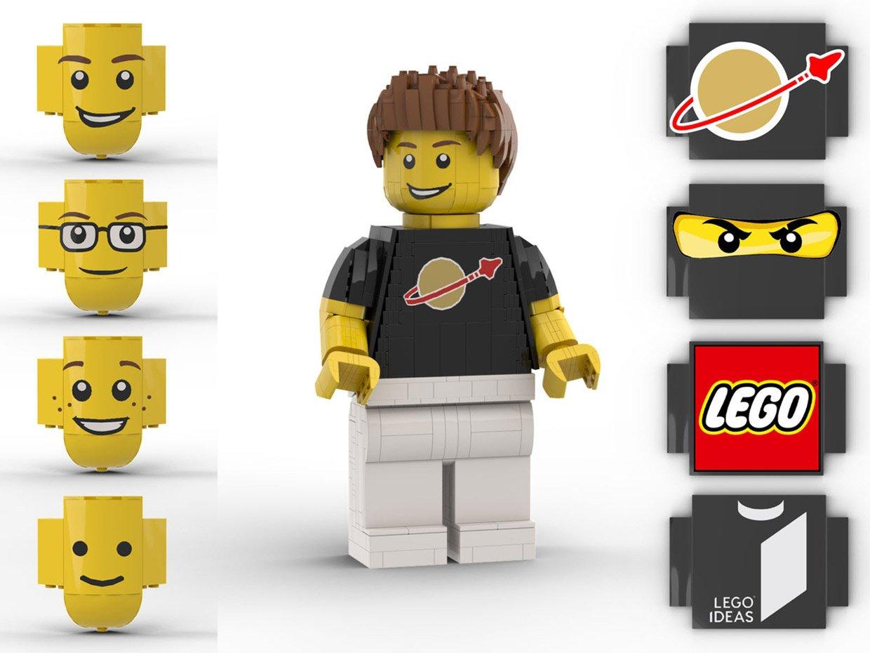 LEGO Ideas Giant Minifig