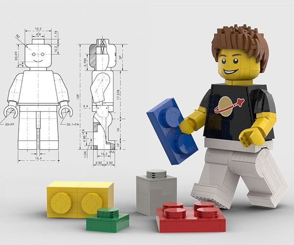 LEGO Ideas Giant Minifig