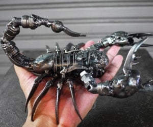 Giant Metal Scorpion