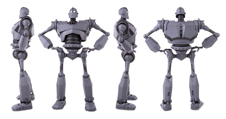 Iron Giant Mondo Mecha Figure