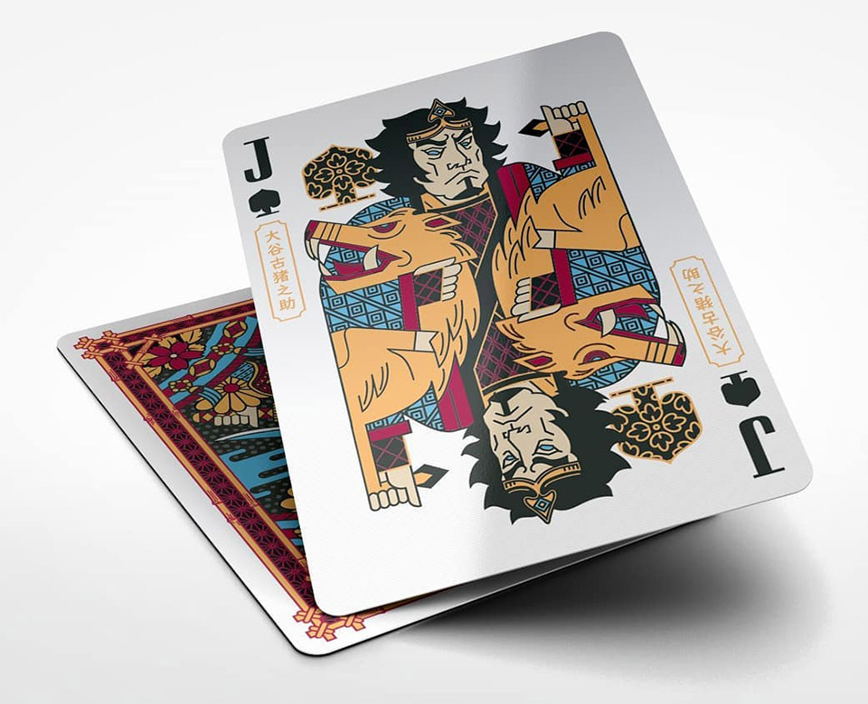 Musha & Goketsu Playing Cards
