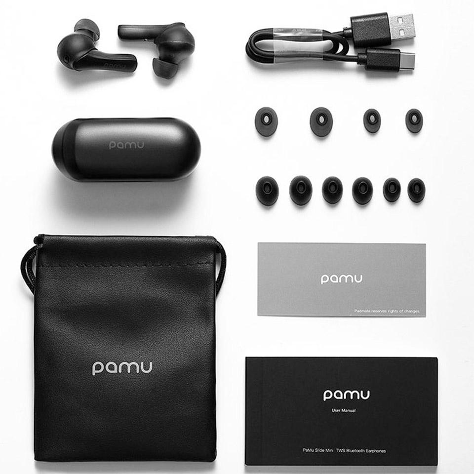 PaMu Slide Mini Wireless Headphones