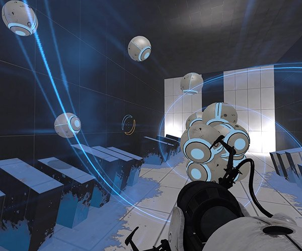 Portal 2 as a Rhythm Game