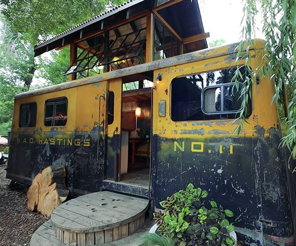 Railroad Car Tiny House
